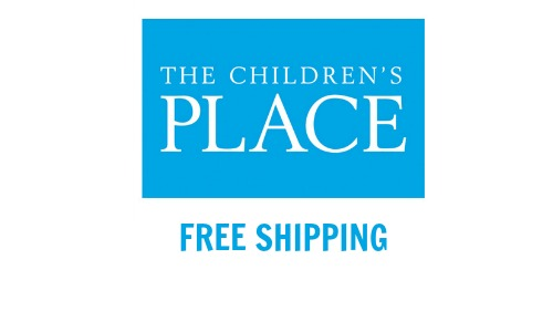 childrens place free shipping