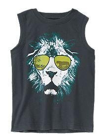 cool lion tank