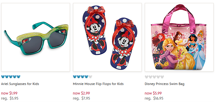 disney store sale items