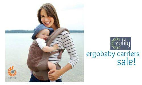 642e7dad6c2 Zulily  Up to 50% off Ergobaby Carriers    Southern Savers