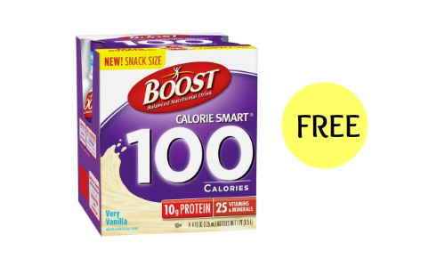 free boost drink coupon