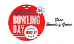 Free Bowling Game | National Bowling Day, 8/8