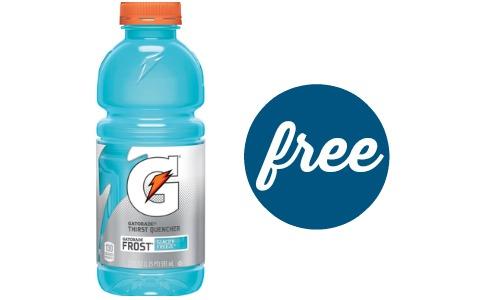 free gatorade