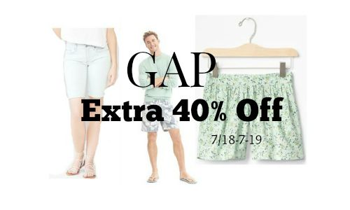 gap discount 40 off