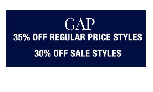 gap promo code 1