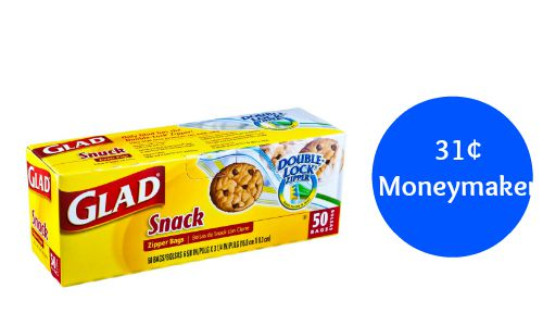 glad snack bags coupon
