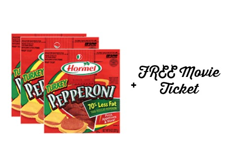hormel movie ticket offer