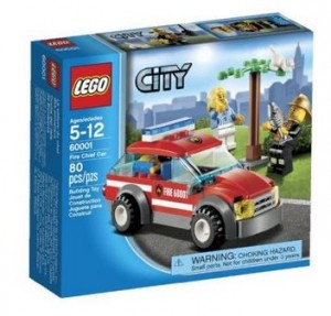 lego fire cheif car