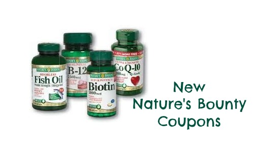 new nature's bounty coupons