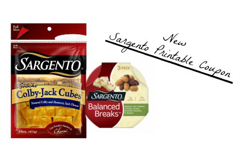 photo regarding Sargento Printable Coupon named Contemporary Sargento Printable Coupon :: Southern Savers