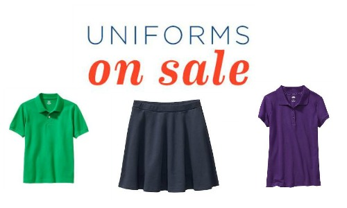 old navy uniform sale