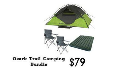 ozark trail camping bundle