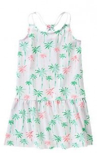 palm trees dress