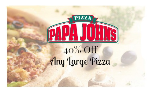 papa johns discount