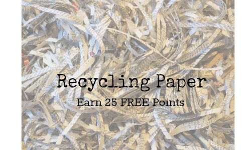 recyclebank rewards paper