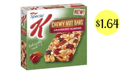 special k chewy bars coupon
