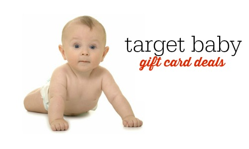 target baby gift card deals