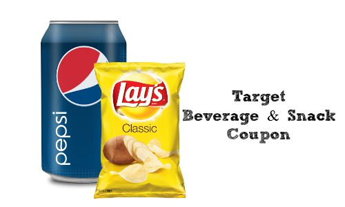 target beverage and snack coupon