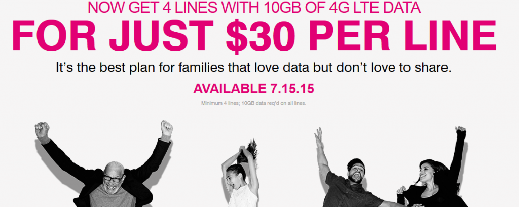 tmobile choice family plan