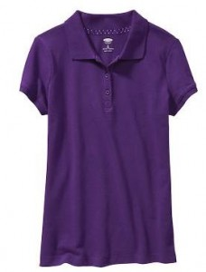 Girls Uniform Pique Polos $6 (reg. $9.94)