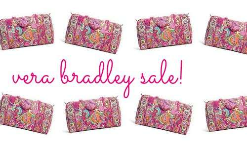 vera bradley 50% Off Sale Items