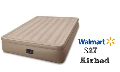 Walmart Deal Intex Queen Airbed 27 Southern Savers