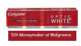 Colgate Optic White Coupon 1