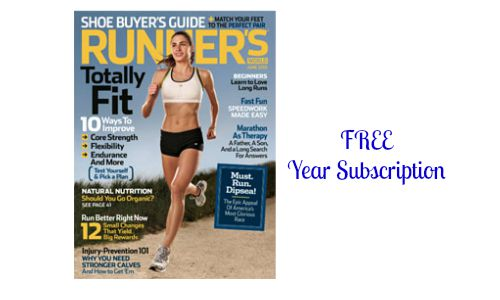 FREE runners world magazine subscription