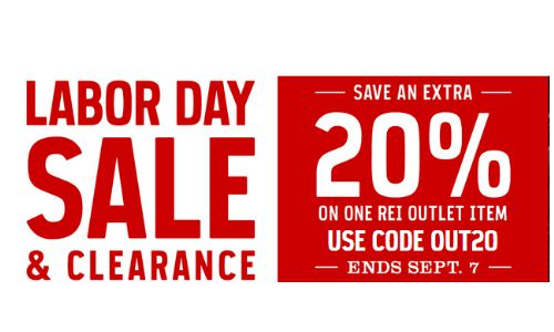 REI outlet coupon code