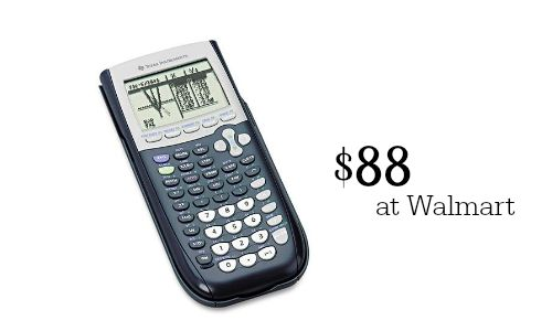 TI 84 graphing calculator