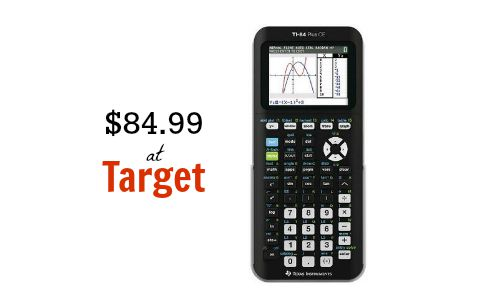 Ti 84 Graphing Calculator 8499 On Targetcom Southern Savers