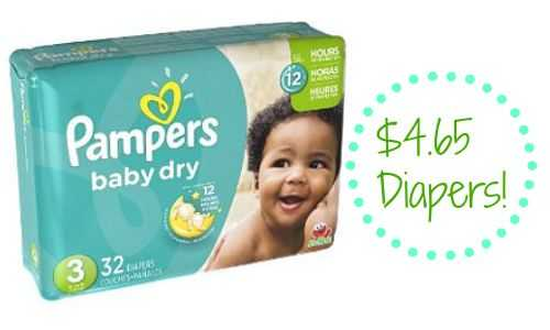 baby dry diapers