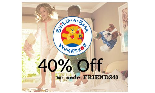 image about Build a Bear Coupons Printable named Acquire a Undergo Coupon Code: Crammed Pets for $7.20