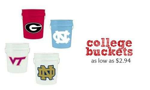 college buckets