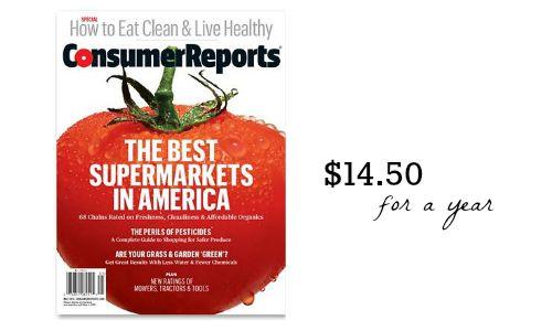 consumer reports magazine groupon