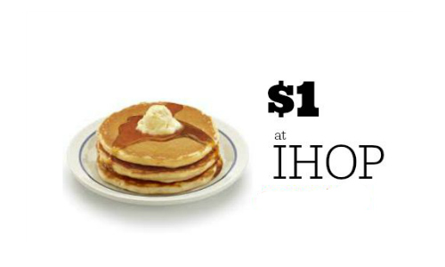 dollar ihop pancakes
