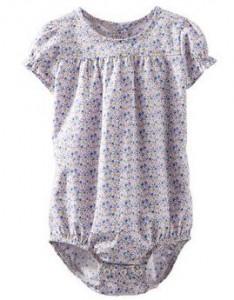 floral poplin bodysuit