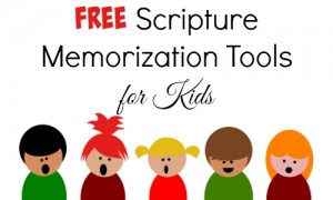 free scripture memorization tools