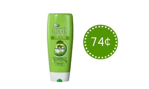 graphic about Garnier Fructis Printable Coupon identify Printable Garnier Fructis Coupon codes As Lower As 74