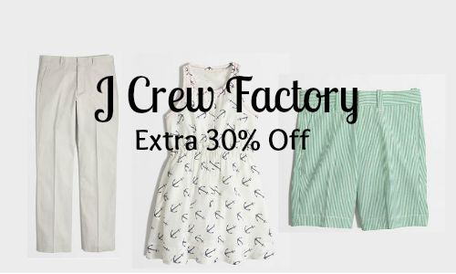 j crew factory coupon code
