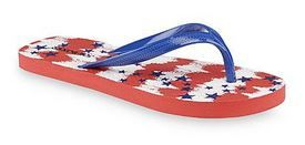 afc196ef3c52 joe boxer 2 1 · Women s America Red White Blue Thong Sandal 99¢ (reg.  4.99)