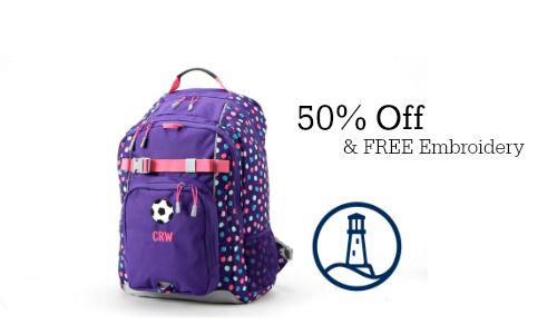 Lands' End: 50% Off Backpacks + Free Shipping