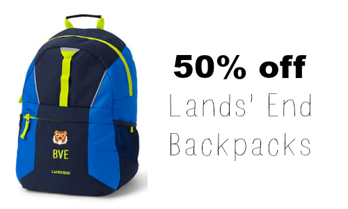 lands' end back pack