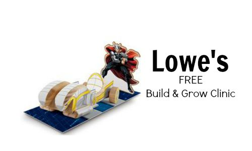 lowe's build and grow clinic thor