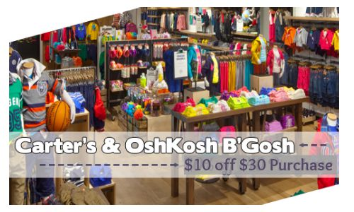 oshkosh carter's coupon code