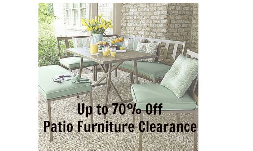 patio furniture clearance kmart  sc 1 st  Southern Savers & Patio Furniture Clearance | 70% Off at Kmart :: Southern Savers