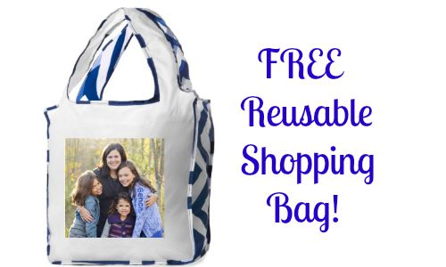 shutterfly deal  free reusable shopping bag    southern savers