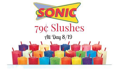 sonic slushes