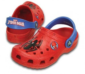 spiderman crocs