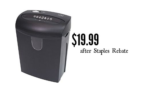 staples rebates